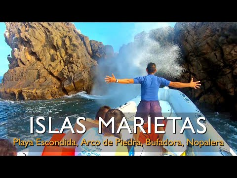 Islas Marietas, Playa Escondida, Bufadora Nayarit Puerto Vallarta / Marietas Islands (Hidden Beach)