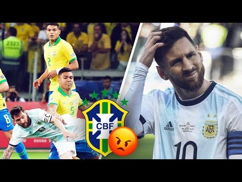 Brazil's stars tell Messi to show some respect - Oh My Goal