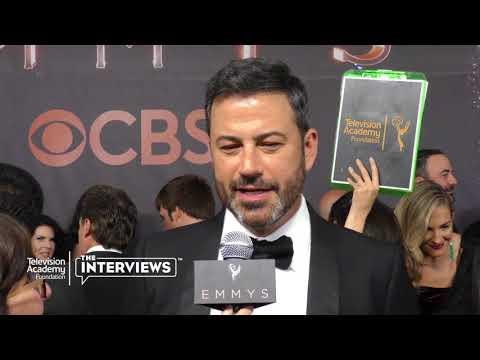 Emmy nominee Jimmy Kimmel on his comedic influences - 2017 Primetime Emmys
