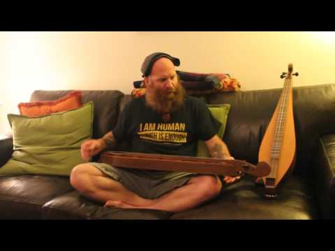 Two Mountain Dulcimers