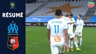 OLYMPIQUE DE MARSEILLE - STADE RENNAIS FC (1 - 0) - Résumé - (OM - SRFC) / 2020-2021