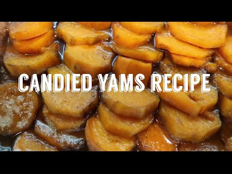 Vlogmas Day 3 2020   The Easiest Candied Yams Recipe   Holiday Recipes