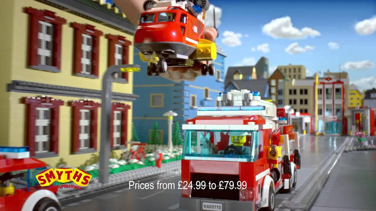 Smyths Toys Lego City Fire Range Youtube
