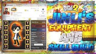 MapleStory 2 - Jinli's Equipment Video + Skills