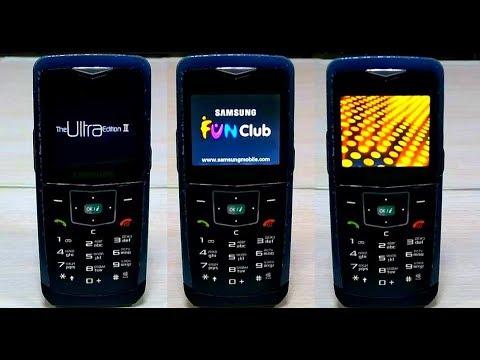 Ultra thin phone SAMSUNG U100
