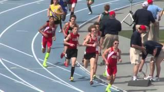 Thomas Pollard 3200 Meter Run at 2013 State Track