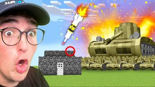 Testing Military Hacks To See If They Work In Minecraft