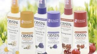 Обзор: органические дезодоранты Crystal