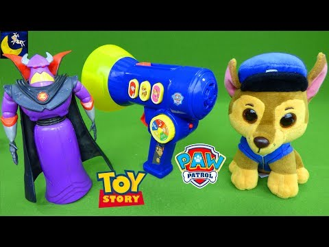 Toy Story Toys Zurg Bullseye Paw Patrol Toys Megaphone Thomas the Train Thrift Store Toy Haul Finds