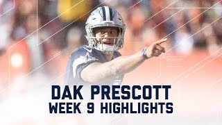 Dak Prescott Throws for 3 TDs! | Cowboys vs. Browns | NFL Week 9 Player Highlights