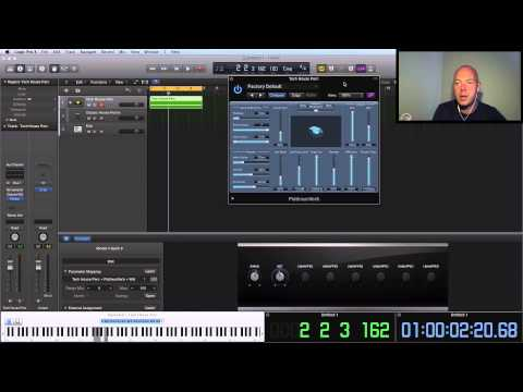 Logic Pro X Tutorial - Track Stacks - Amazing Tech House Percussion