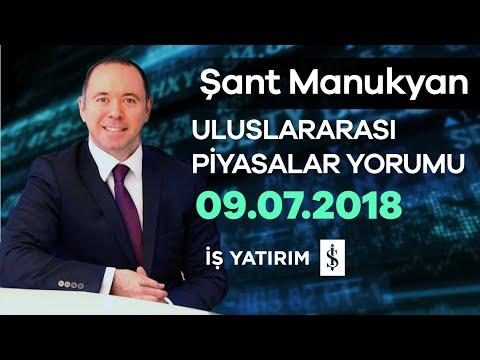09.07.2018   Şant Manukyan   Piyasalar