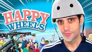 Esse jogo MUDOU demais, RAGE absoluto - Happy Wheels