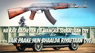 New Punjabi lyric song Whatsapp Status& Fb Status