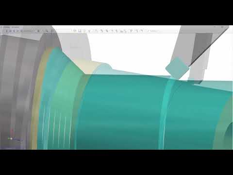 Rough Turning Enhancements | Edgecam 2019 R1