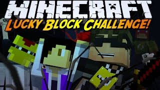 Minecraft Lucky Block Mod CHALLENGE! GIANT KILLER ANT!