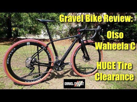 Gravel Bike Review: Otso Waheela C - HUGE Tire & Mud Clearance!