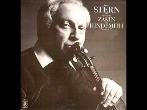 Hindemith-Violin Sonata in C (1939) (Complete)