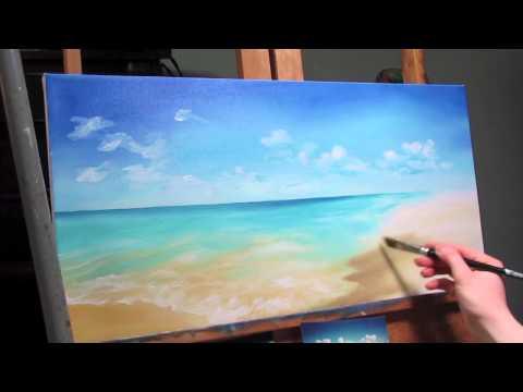 Oil Painting - Ocean Scene