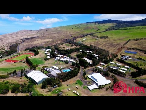 Hawai'i Preparatory Academy (HPA) Campus Tour [Drone]