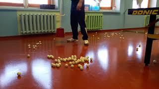 Сборщика мячей для бедных клубов и ДЮСШ.