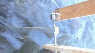 Wasserrad mit mini Generator