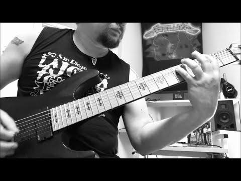 Fireproven - Waves of Extinction - Official guitar tutorial part 5. FIRST CHORUS