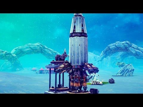 Huge Automated Ballistic Missile System! Big Tank, Darth Vader - Besiege Workshop Creations Gameplay