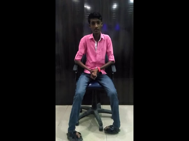 Roshan: PMKVY Candidate Testimonial under Mobile repairing course @ Apar India