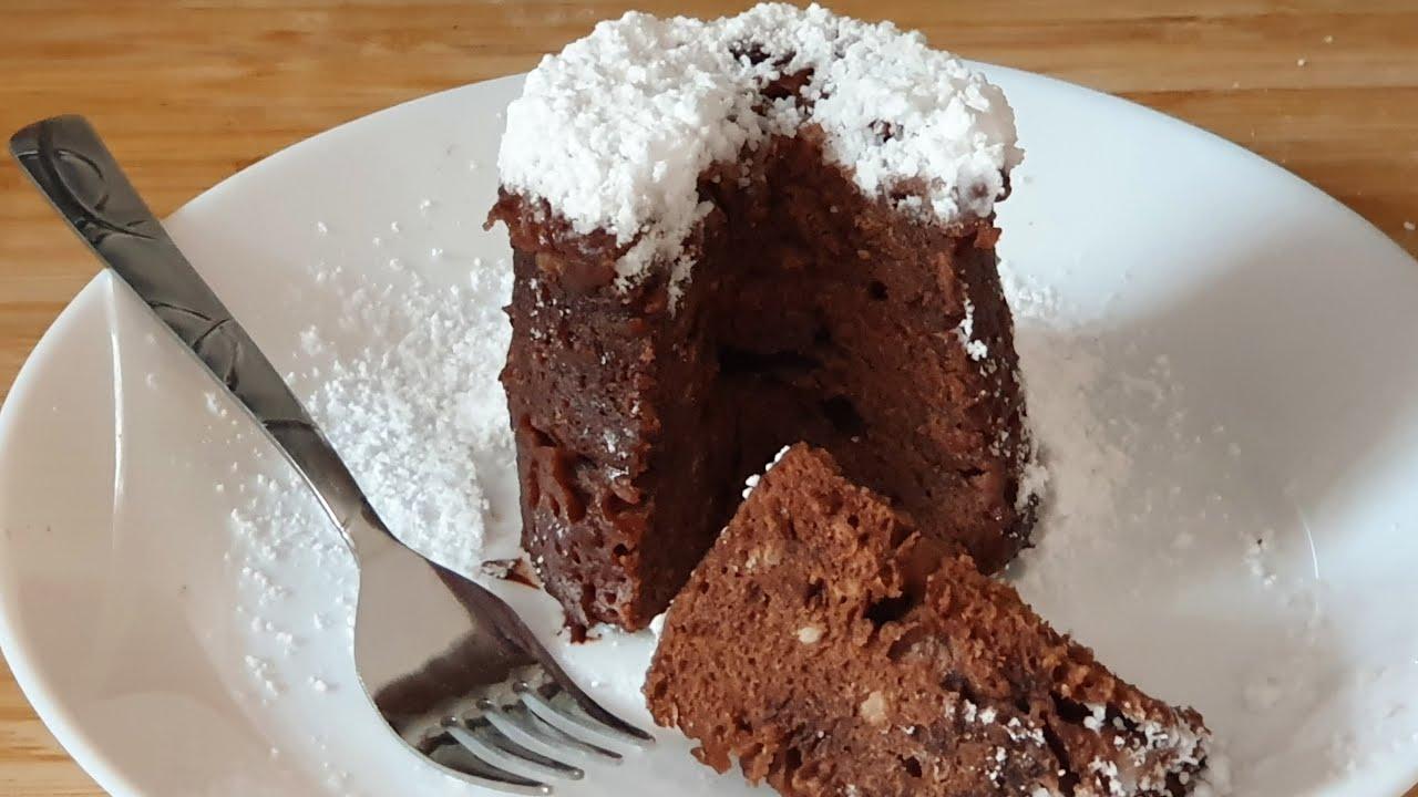 Schoko Tassenkuchen in 5 Minuten - Tassenkuchen selber machen