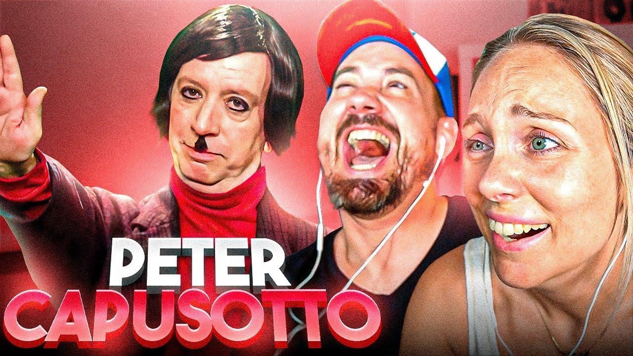 ESPAÑOLES REACCIONAN al HUMOR SUBREALISTA de PETER CAPUSOTTO