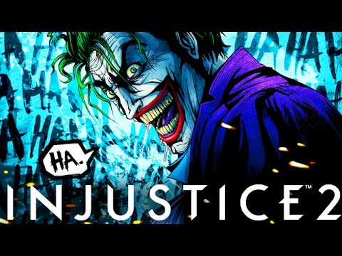 "Injustice 2: New Character Reveal ""The Joker"" Final Character Reveal (Injustice Gods Among Us 2)"