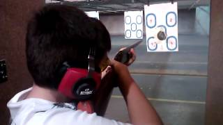 jacob shooting my model 37 Winchester.mp4