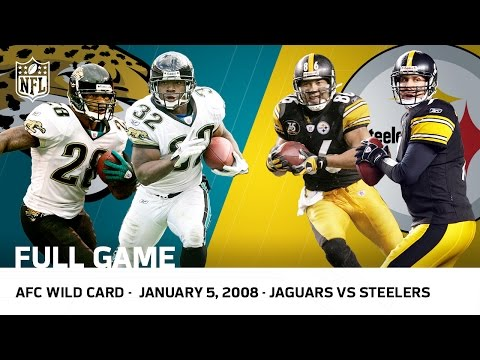 Jaguars Survive Steelers Massive Comeback | 2007 AFC Wild Card | NFL Full Game
