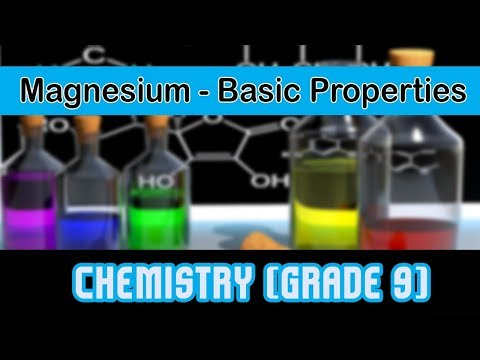 Magnesium | Basic Properties | Reaction With Steam To Generate Hydrogen Gas