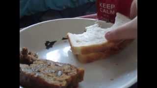 Asmr Sounds//cajun Chicken Sandwich And Tea Cake