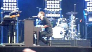 Editors - No sound but the wind @ Rock Werchter 2010