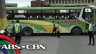 TV Patrol: Bus binalaang isasara ang garahe dahil sumundo ng pasahero