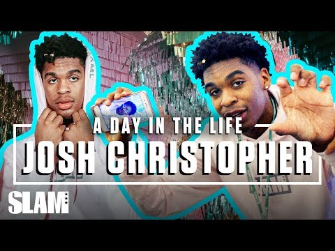 Josh Christopher HILARIOUS Mic'd Up at the Instagram HQ   SLAM Day in the Life