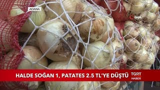 Halde Soğan 1 Patates 2 5 TL Ye Düştü