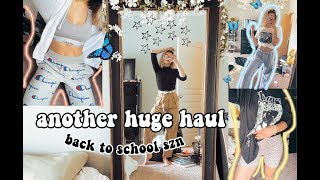 i stress shopped so heres a haul *back to school edition*