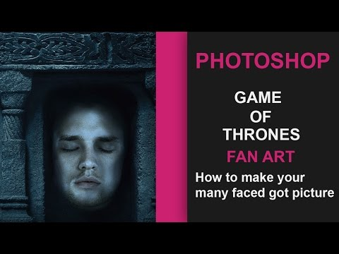 Game Of Thrones season 6 | Fan art - Make your own Many faced God pic