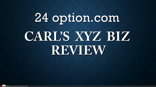 24 option Review   The Truth about 24 Option!