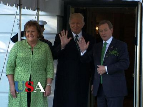 Trump, Irish PM Celebrate St. Patrick