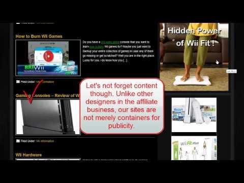 VIDEOGAMING WEBSITE – Turnkey Website Design – Earn money with affiliate marketing!