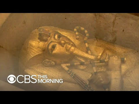 King Tut's tomb unveiled after decade-long restoration