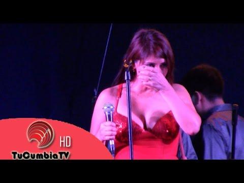 Yrma Guerrero llora al cantar