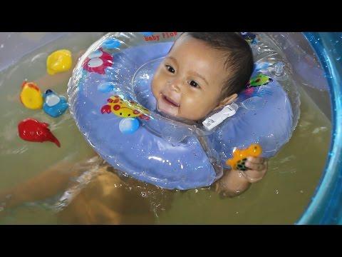 kolam bak bayi lucu transparan  - ibu dan balita indonesia