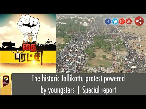 Tamil Nadu Historic Jallikattu Protest Powered by Youngsters   Special report