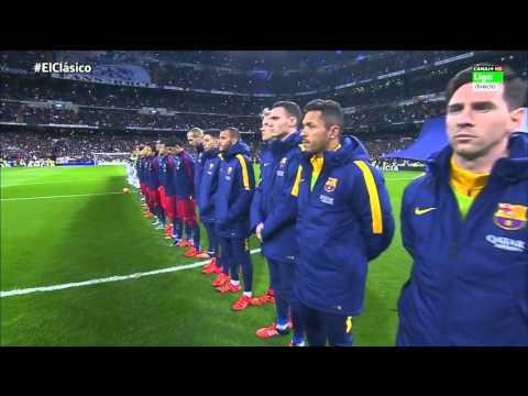 La Liga Real Madrid 0 vs FC Barcelona 4 (21 November 2015)